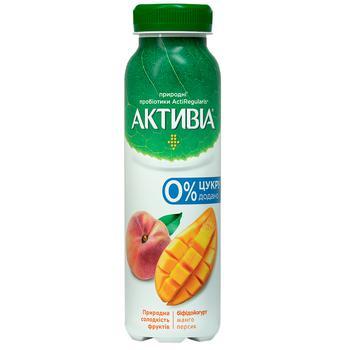 Activia Sugar-Free Mango-Peach Flavored Bifidoyogurt 1,2% 270g