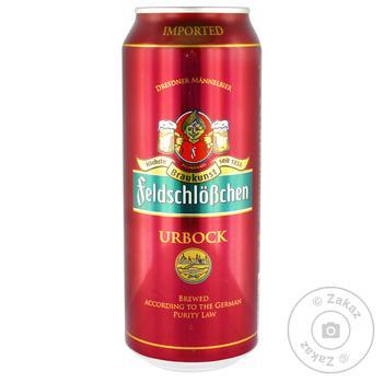 Пиво Feldschlobchen Urbock светлое 7.2%0,5л
