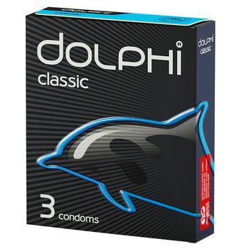 Презервативы Dolphi Классические 3шт - купить, цены на Varus - фото 1
