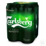 Пиво Carlsberg светлое 4шт*0,5л ж/б
