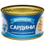 Akvamaryn With Oil Sardines 230g