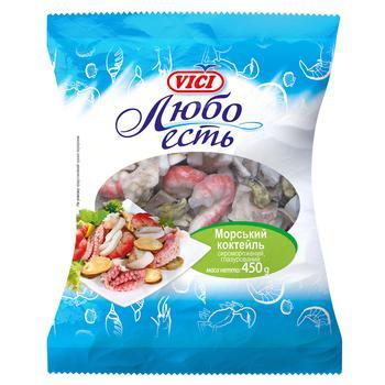 Морской коктейль Vici Любо есть сыромороженый 450г - купить, цены на СитиМаркет - фото 1