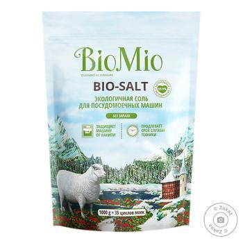 Соль BioMio для посудомоечной машины 1кг - купить, цены на Восторг - фото 1