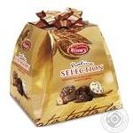 Конфеты Witor's ассорти пралине из черного и молочного шоколада с начинкой 300г