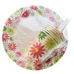 Unipak Set Paper Disposable Tableware
