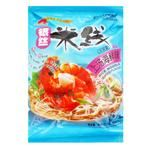 Hezhong rice noodles with seafood flavour 105g