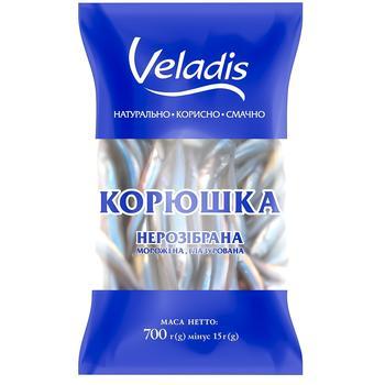 Корюшка неразобранная Veladis 700г - купить, цены на СитиМаркет - фото 1