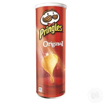 Чипсы Принглс Ориджинал картофельные 165г Бельгия - купить, цены на Novus - фото 1