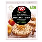 AXA Premium With Apple And Pear Ready-To-Cook Oat Porridge 40g