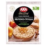 Каша вівсяна AXA Premium Яблуко-Груша зі смаком штруделю миттєвого приготування  40г