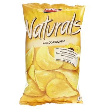 Чипсы Лоренц Нетчерелс Классические картофельные с солью 110г Германия