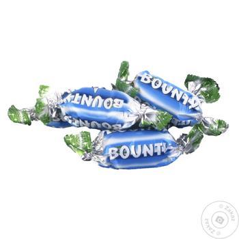 Цукерки Bounty вагові - купити, ціни на МегаМаркет - фото 1