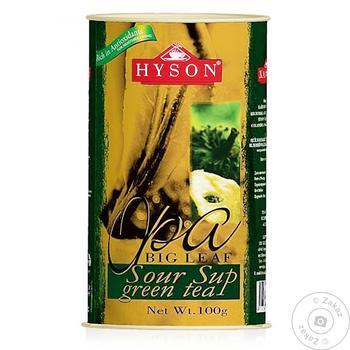 Чай Hyson Sour Sup черный 100г