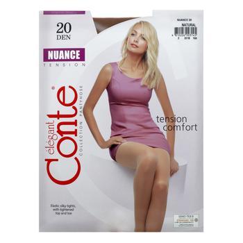 Колготи жіночі Conte Nuance 20ден р.3 Natural - купити, ціни на CітіМаркет - фото 3