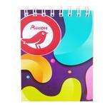 Auchan Notebook on Spiral 48 sheets