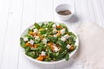 Салат из тыквы с рукколой и сыром фета