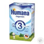 Смесь сухая молочная Humana Folgemilch 3 с 10 месяцев 600г