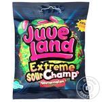 Конфеты АВК Juveland Extreme Sour Champs Watermelon Сластики желейно-жевательные 85г