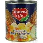 Фруктовый коктейль Tropic Life в сиропе 850мл