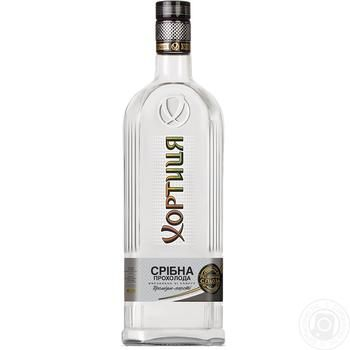 Горілка Хортиця Срібна прохолода 40% 1л