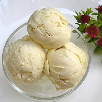 Тропическое мороженое из йогурта