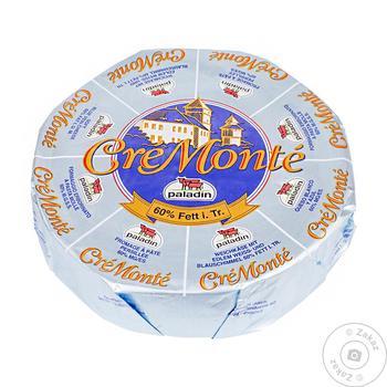 Сыр Paladin Кре Монте 60% - купить, цены на Фуршет - фото 1