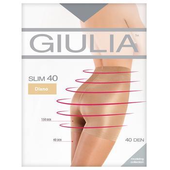 Колготки Giulia Slim жіночі daino 40ден 3р - купити, ціни на УльтраМаркет - фото 1