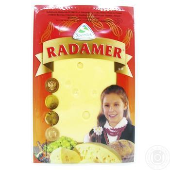 Сыр Spomlek Радамер твердый нарезанный 45% 150г - купить, цены на СитиМаркет - фото 1