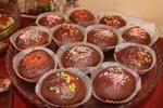 Быстрые шоколадные маффины