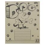 Mrii Zbuvayutsya Eco Checkeres School Notebook 12 Sheets