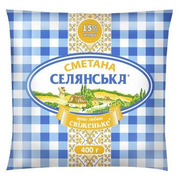 Selianska Sour Сream 15% 400g