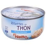 Pate Netto tuna canned 125g can France