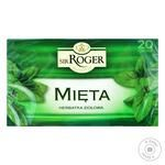 Чай травяной Мята Sir Roger 1,5 г x 20 - купить, цены на Фуршет - фото 1