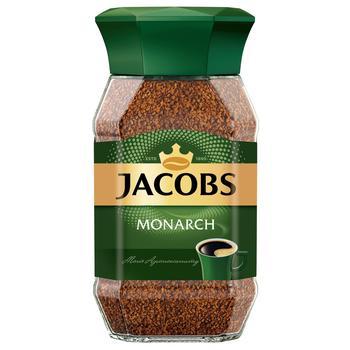 Кофе Jacobs Monarch растворимый 48г - купить, цены на Ашан - фото 1