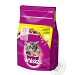 Food Whiskas with chicken dry for kittens 350g