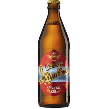 Пиво Ополье Жигулевское светлое 4% 0,5л - купить, цены на СитиМаркет - фото 1