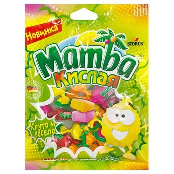 Конфеты жевательные Мамба ассорти кислая 70г