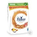 Сніданок готовий сухий Fitness&Fruits з цільної пшениці з фруктами вітамінами та мінералами 400г - купити, ціни на Novus - фото 1