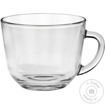 Чашка ОСЗ скляна Гламур 200мл - купити, ціни на Novus - фото 1