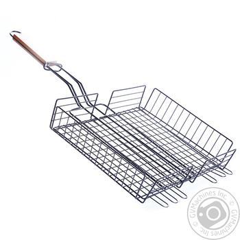 Решетка для овощей антипригарная 25*32см - купить, цены на Ашан - фото 2