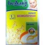 Oatmeal dairy-free porridge Bellakt for 5+ months babies 250g Belarus