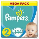 Подгузники Pampers New Baby-Dry 2  3-6кг 144шт