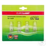 Лампа Eurolamp галогенова G9 60W 230V блістер 4 шт.