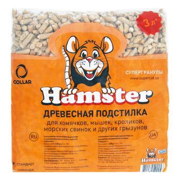 Підстилка Collar Hamster для гризунів 800г - купити, ціни на Ашан - фото 1