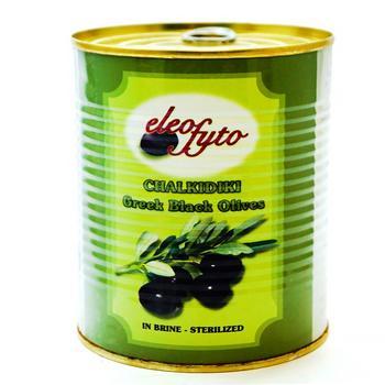 Маслины Eleo Fyto черные 2,5кг