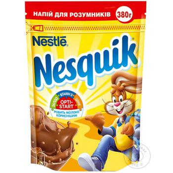 Какао-напій Nestle Nesquik Opti-Start 380г