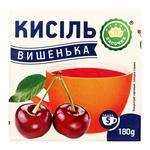 Кисіль Ласочка Вишенька 180г - купити, ціни на CітіМаркет - фото 1