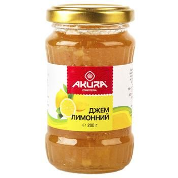 Akura Lemon Jam 200g - buy, prices for Tavria V - image 1