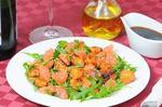 Салат з куркою і грейпфрутом