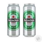 Beer Heineken light 5% 1000ml can